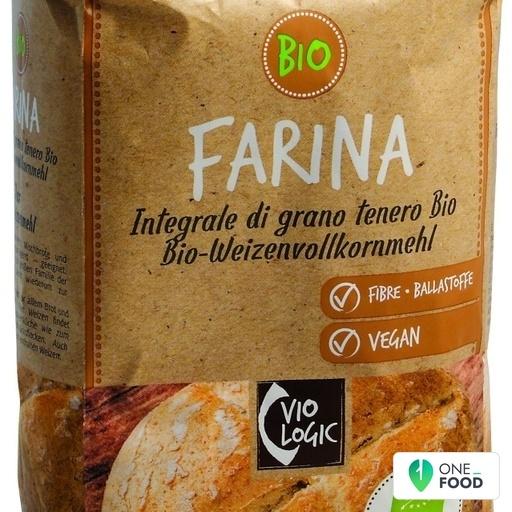 Biological Whole Soft Wheat Flour 1 X 1 Kg